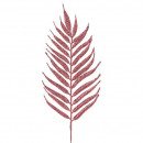 Großhandel Sonstige: Palmen Blat tRudo, L29cm, mit Draht, glitzer rosa